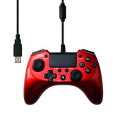Playstation 3 and 4 Red Hori Pad 4 FPS Plus Controller
