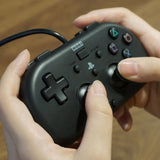 HORI Mini Gamepad Wired Controller for PS4 Light Black