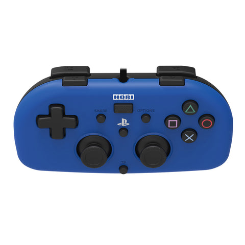 HORI Mini Gamepad Wired Controller for PS4 Blue