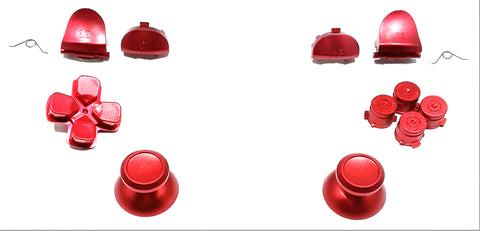 Metal Button Set for the PS4 Dual Shock 4 Controller