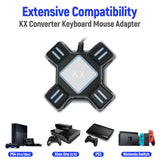 KX USB Keyboard and Mouse Converter for Switch/Xbox One/PS3/PS4