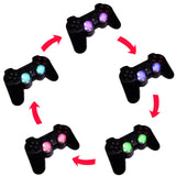 Clear LED Analog Thumbstick/Joystick Caps Set for the PS4 Dual Shock Controller