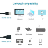 2FT USB2.0 Extension Cable (M/F)