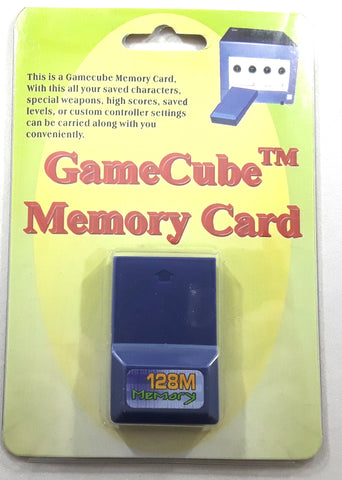 Game Cube 128MB Memory Card