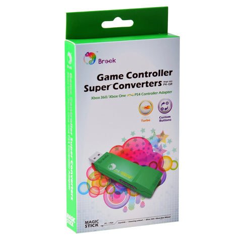 Brook Adapter for Xbox 360 and Xbox One Controller to PS4