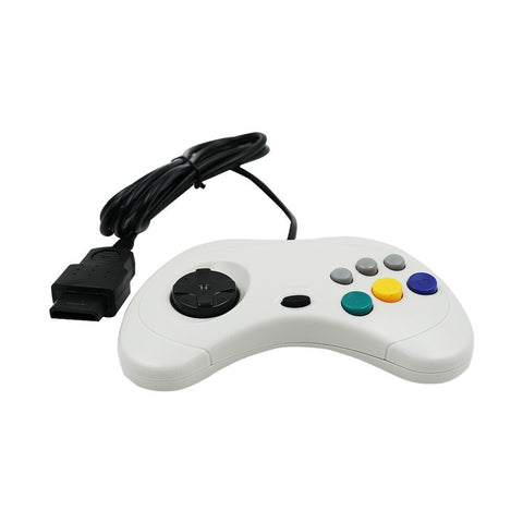 Classic Controller for the Sega Saturn - White