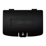 Nintendo Gameboy Black Battery Cover Door