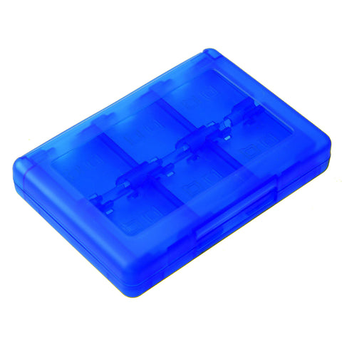 28 in 1 Game Card Storage Case for Nintendo 3DS Blue