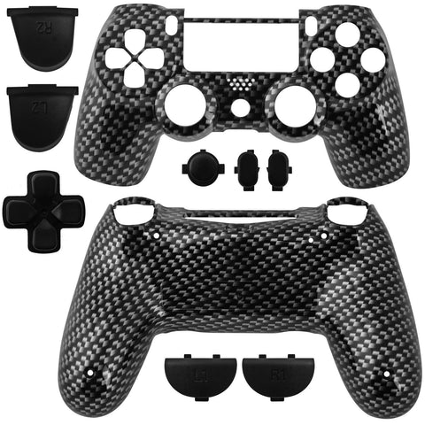 Playstation 4 Carbon Shell Housing for the Dualshock Controller