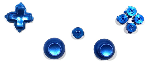 Xbox One Controller Metal Button Set - Blue
