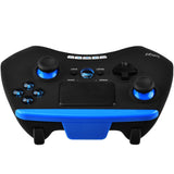 PC Mac Android and IOS Bluetooth Black and Blue Controller 9028