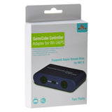 Gamecube Controller Adapter for Wii U & PC (2 Ports)