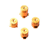 Metal Buttons Set for Xbox One Controller Bullet Style Gold