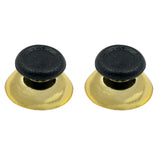 Gold Chrome Plated Analog Thumbsticks for the PS4 DS4