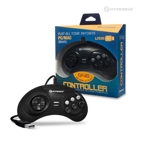GN6 Premium USB Controller for the PC and Mac