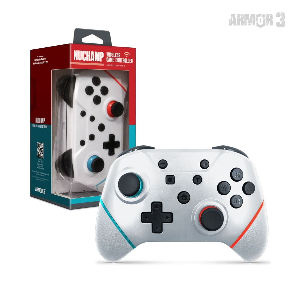 Nuchamp Wireless Game Controller For The Nintendo Switch/lite - Armor3