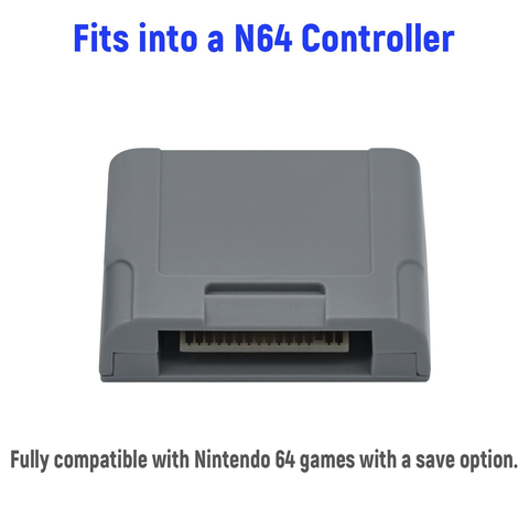 256KB Expansion Pack Memory Card for N64 Controller