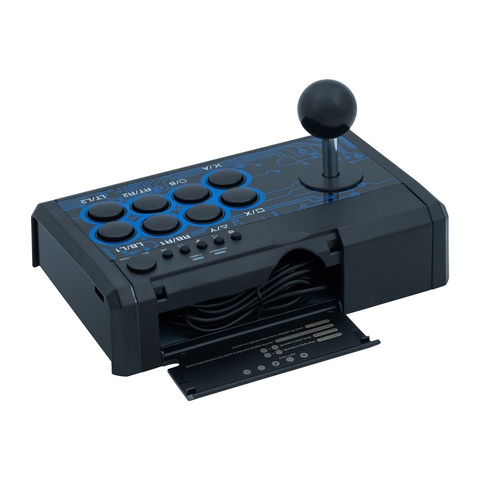 Dobe 7 in 1 Mini Arcade Fighting Stick for PS4/PS3/XBO/360/Switch/PC/Android