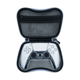IPLAY 6 In 1 EVA Storage Bag With Crystal Case For PS5 Controller (HBP-286)