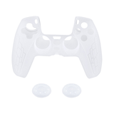 Non-Slip Silicone Protective Case with Thumbstick Caps for the PS5 Controller