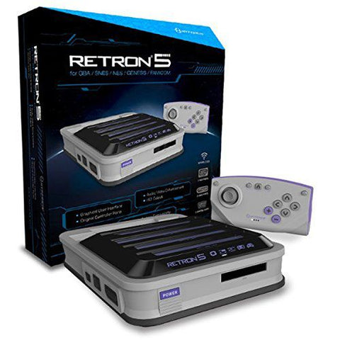 Hyperkin RetroN 5 HD Gaming Console for GB/Advance/Color/SNES/NES/Genesis