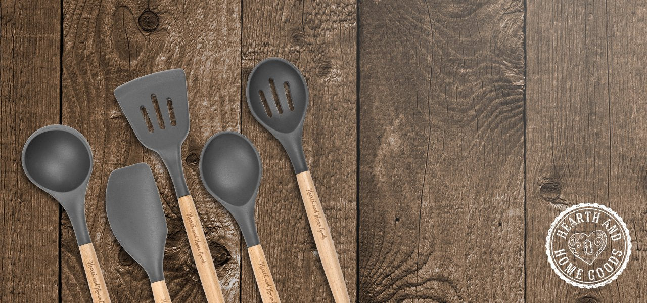 Hearth and Home Goods - Kitchen Cooking Utensil Set