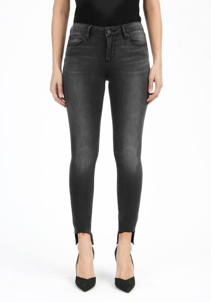 Articles of Society Stephanie Step Hem Skinny in Tulare - Sole & Blues