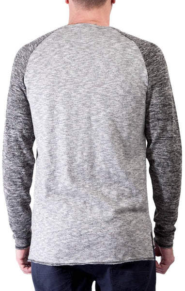 Civil Society Men's Ricky Long Sleeve Raglan Shirt - Sole & Blues