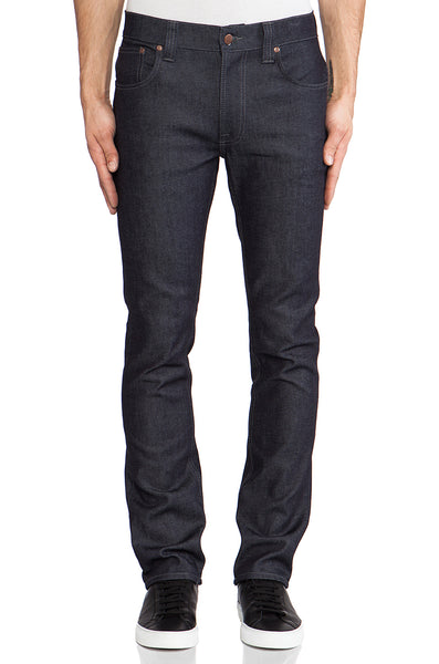 Nudie Jeans Thin Finn Organic Dry Dark Grey - Sole & Blues