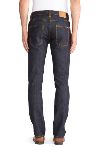 Nudie Jeans Grim Tim Organic Dry Navy - Sole & Blues