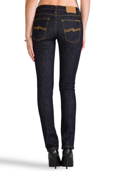 Nudie Jeans Tight Long John Organic Twill Rinsed - Sole & Blues
