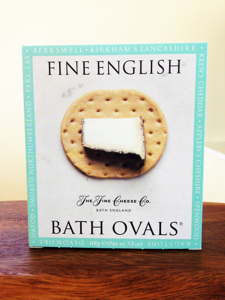 Fine English Bath Ovals Crackers