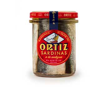 Sardines a la Antigua in Olive Oil