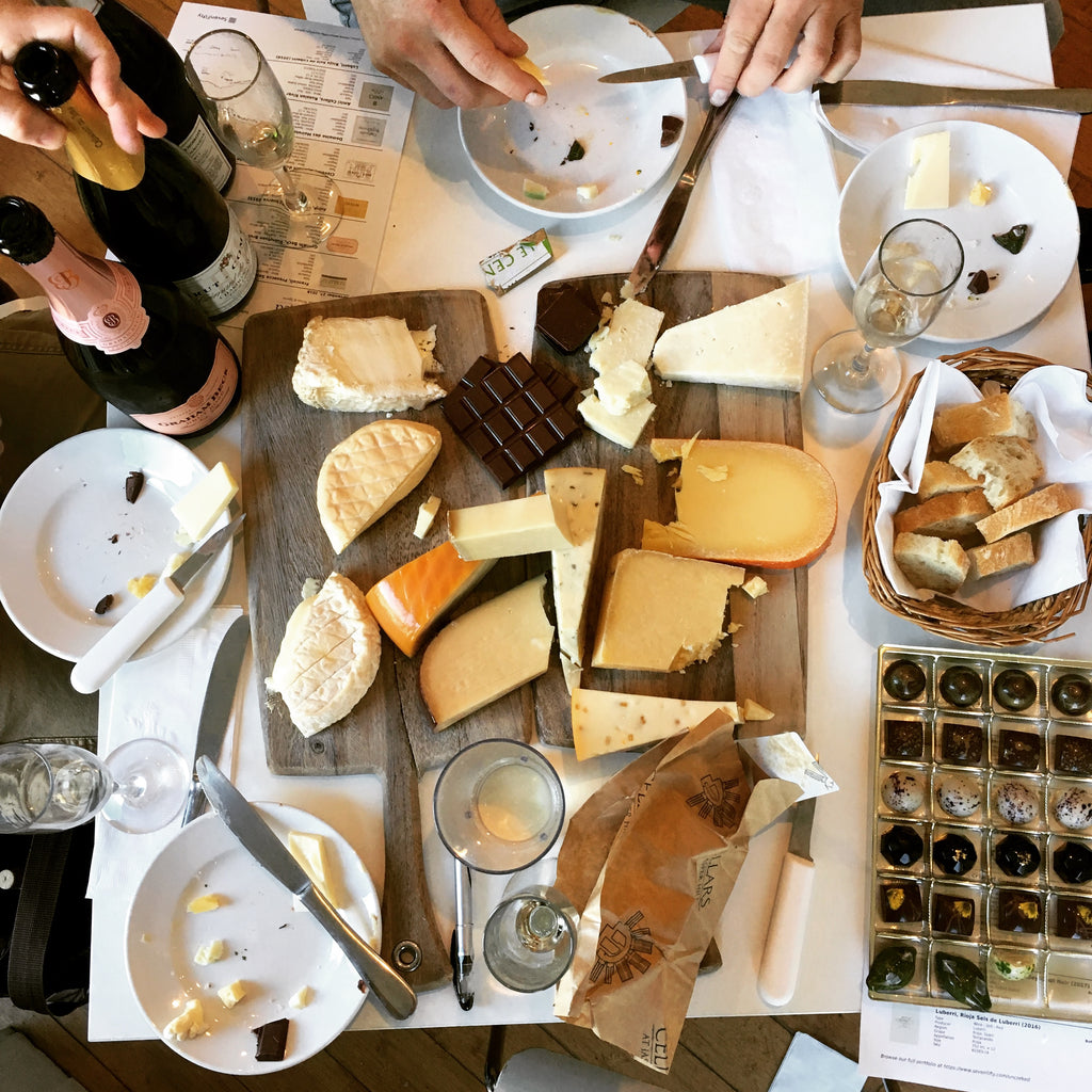 FEBRUARY 12TH: A Night of Aphrodisiacs - Cheese, Chocolate & Wine