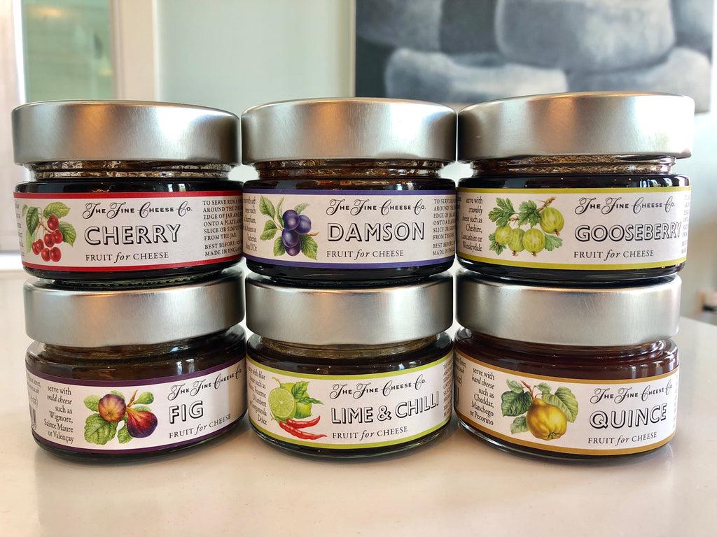 British Fruit Jams for Cheese