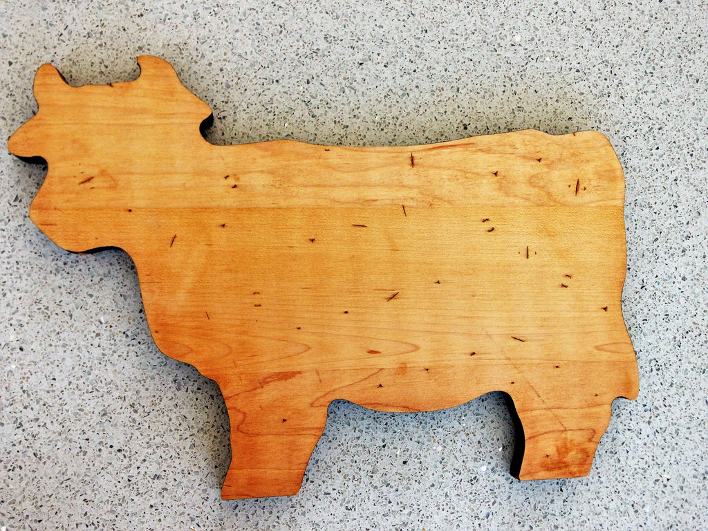 Wooden Cow Board