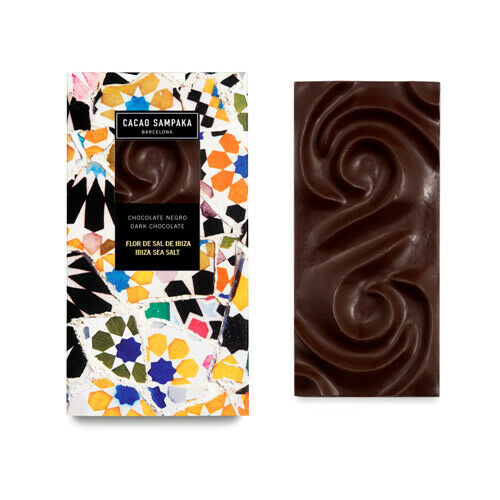 Cacao Sampaka Ibiza Sea Salt Chocolate Bar