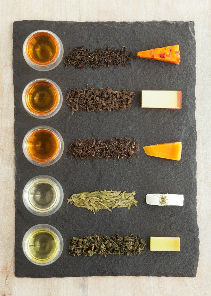JANUARY 30TH: Cheese & Tea Pairings - A Virtual Class