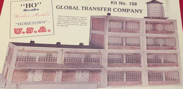 #108 - HO Scale - Global Transfer Company Kit