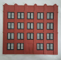 #D0063 - O Scale - Front Wall w/ Double Door