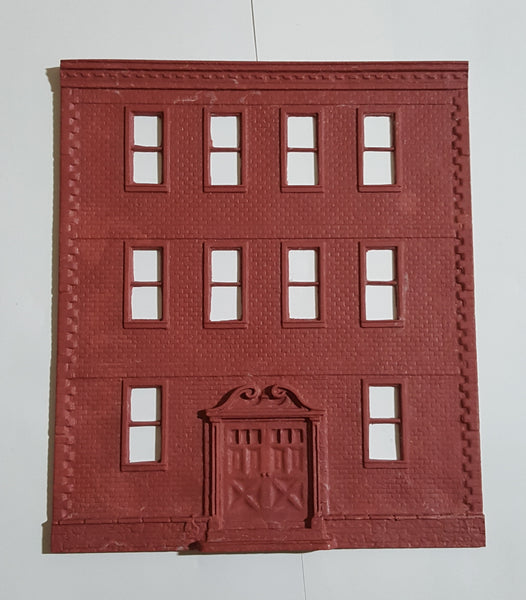 #D0069 - O Scale - Apartment Building - Front Wall