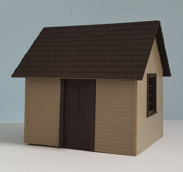 #MFN001 - O Scale - Trackside Shed Kit