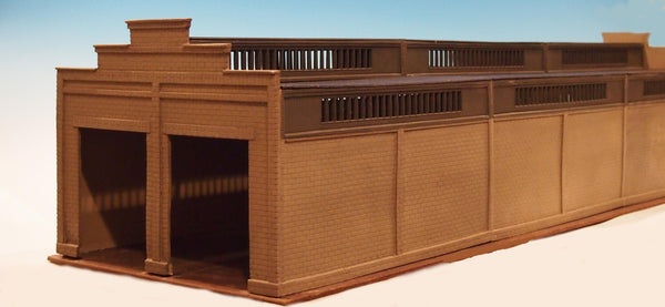 Korber #306 - O Scale - 2 Stall Diesel Shed Build Up