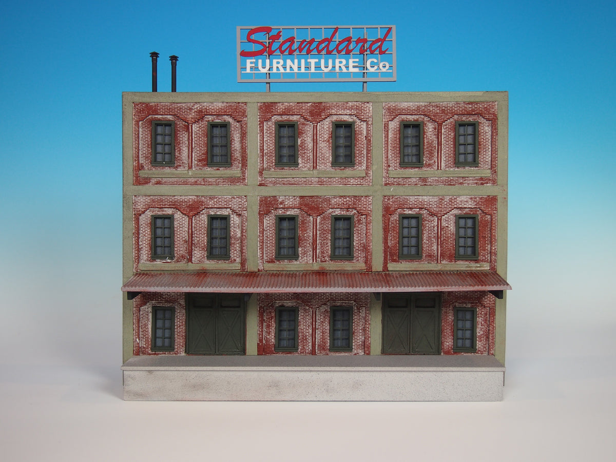 708 o scale background furniture factory kit korber for Scale model furniture