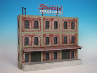 #708 - O Scale - Background Furniture Factory Kit