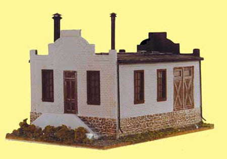 #957 - O Scale - Lewis & Sons Machine Shop Kit