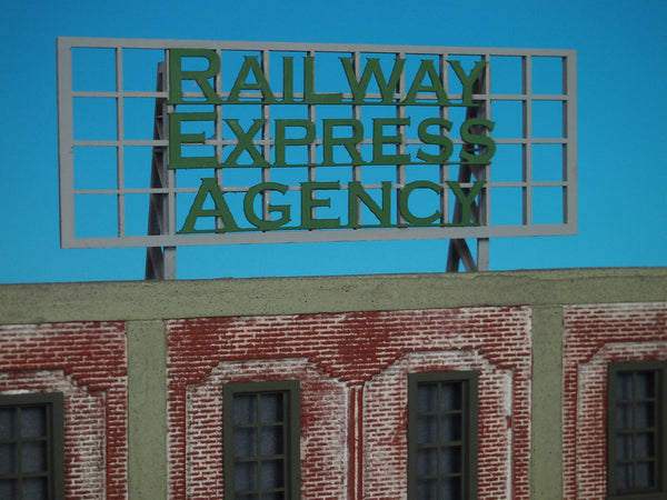 #D0026 - O Scale - Roof Top Sign – Railway Express Agency