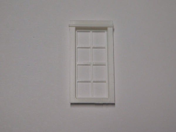 #D0010 - O Scale - Double Hung Windows (10-Pack)