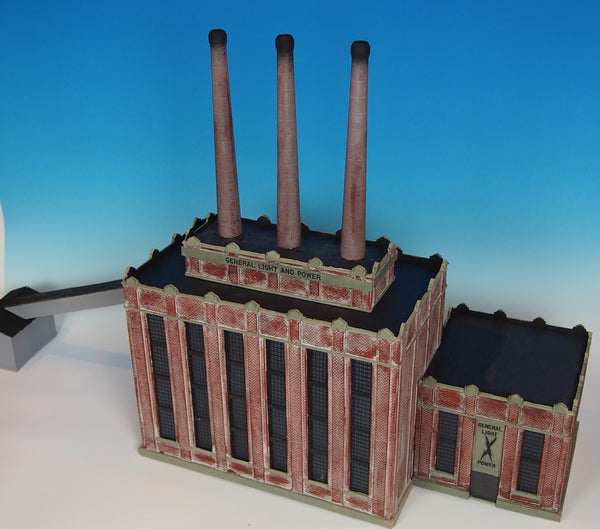 #107 - HO Scale - General Light & Power Plant Kit