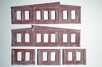Korber #104 - HO Scale - 3 Stall Roundhouse Kit